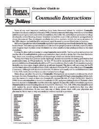 Coumadin Interactions
