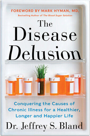 "Book cover for ""The Disease Delusion"""