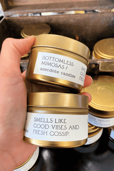 Bottomless Mimosas Candle 3.4oz - Anecdote Candles