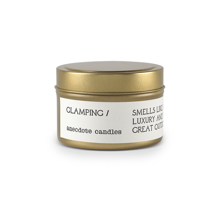 Glamping Candle 3.4oz - Anecdote Candles