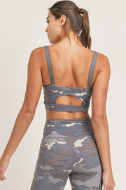 Tundra Cutout Back Sports Bra (S-L)