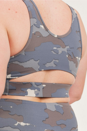 Tundra Cutout Back Sports Bra (1XL-3XL)