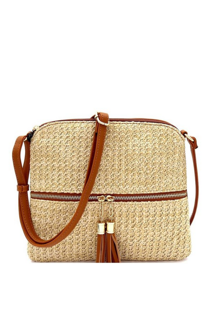 Straw Cross Body