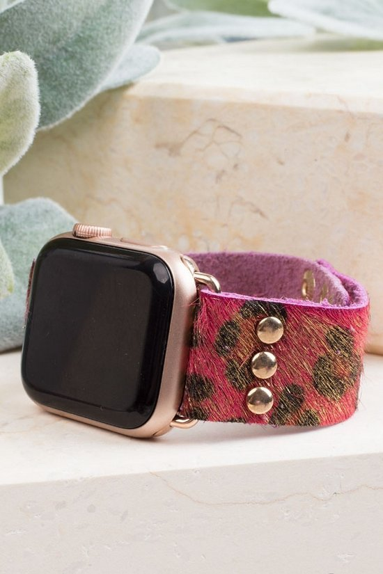 Rose Hide Watch Band 38/42 MM