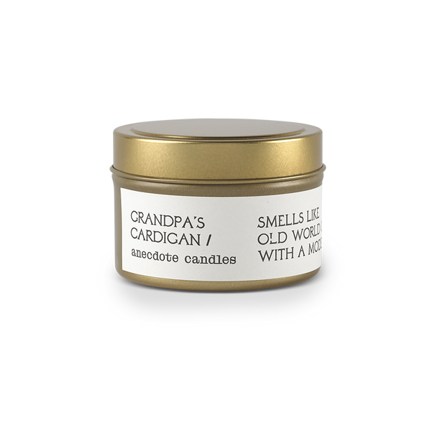 Grandpa's Cardigan Candle 3.4oz - Anecdote Candles
