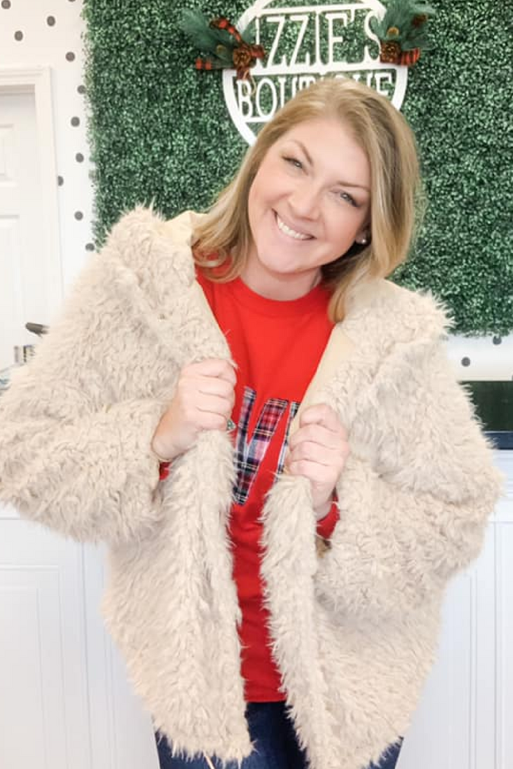 Faux Fur Cozy Jacket