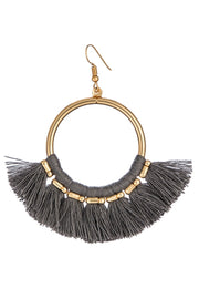 Statement Tassel Fringe Earrings