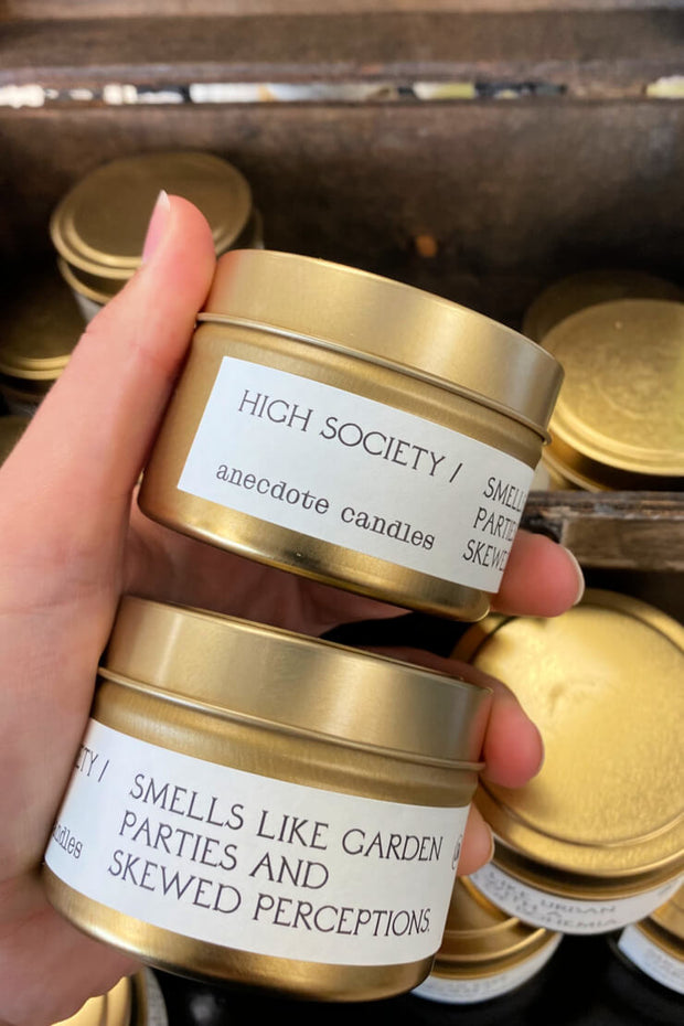 High Society Candle 3.4oz - Anecdote Candles