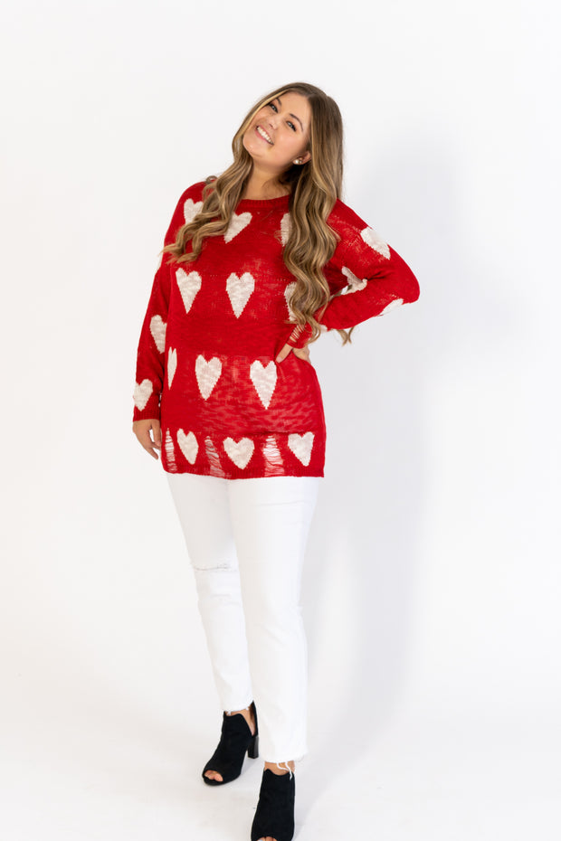 Be My Sweetheart Sweater