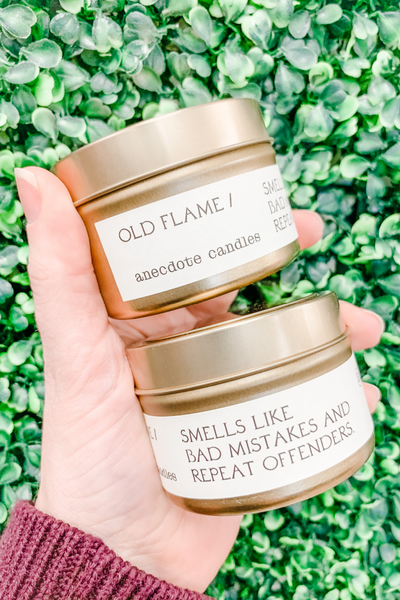 Old Flame Candle 3.4oz - Anecdote Candles