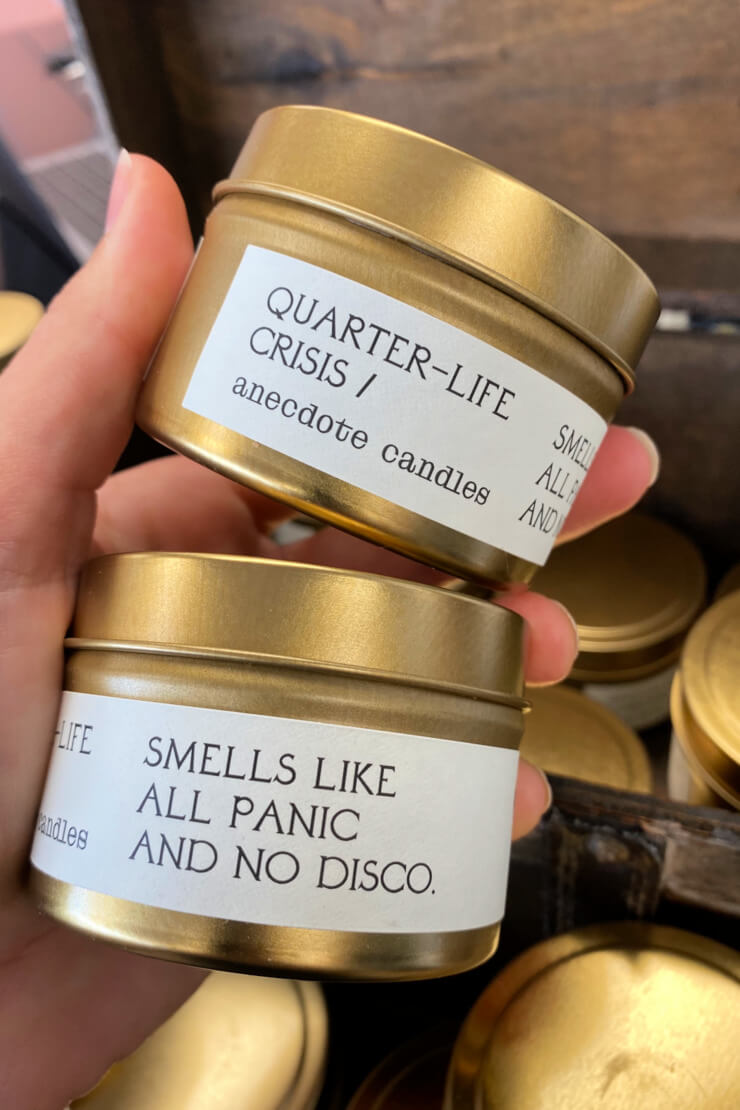 Quarter-Life Crisis Candle 3.4oz - Anecdote Candles
