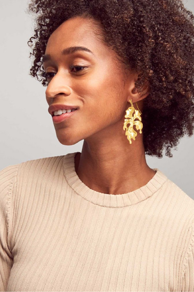 Savannah Drop Earrings In Gold - Kendra Scott