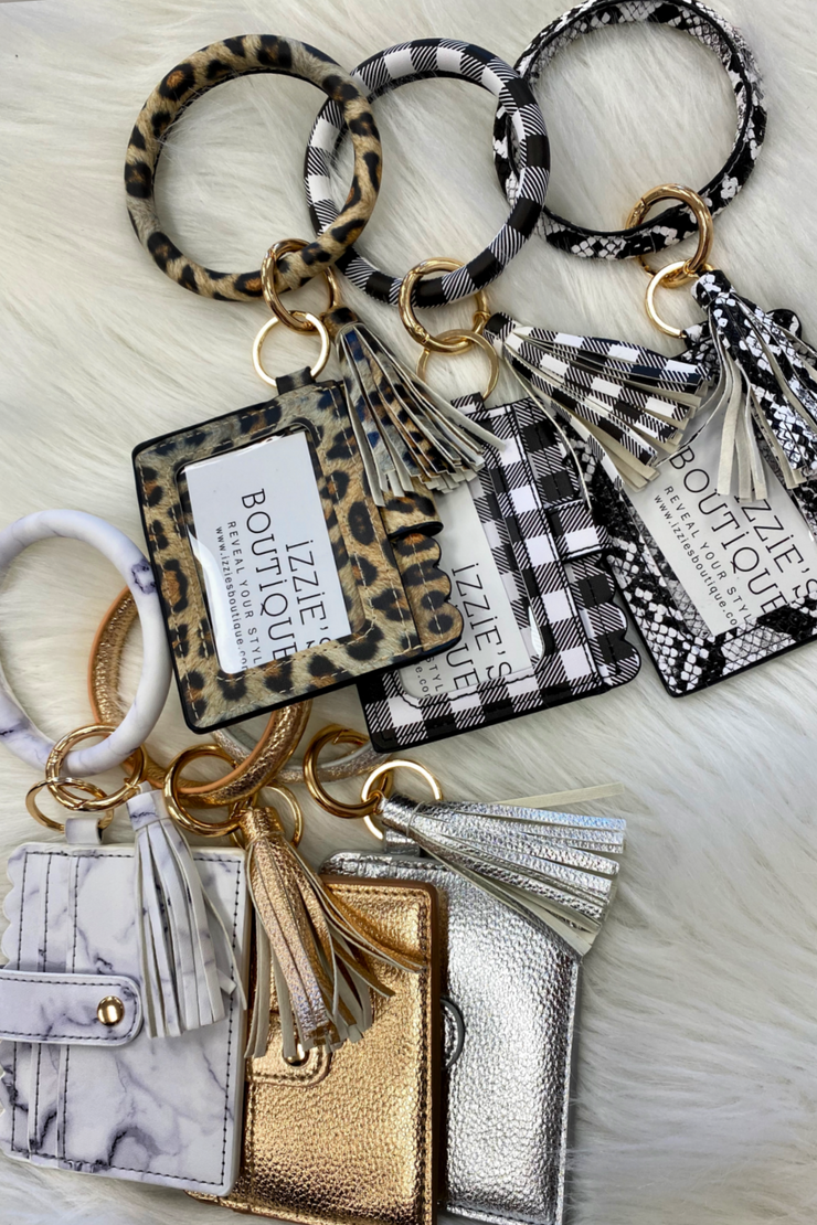 Wallet Wristlet With Tassel