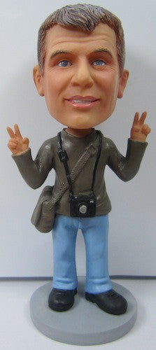 Male Photographer Bobblehead