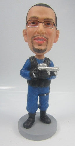 Police Office Bobblehead #2