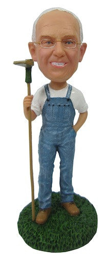 Farmer Bobblehead