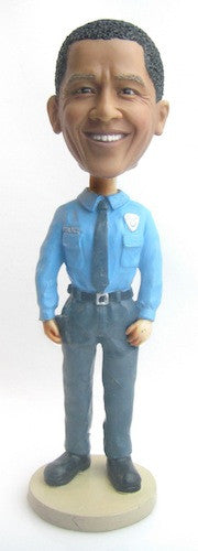 Police Officer Bobblehead #3