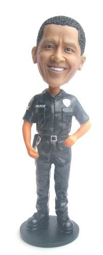 Police Officer Bobblehead #4