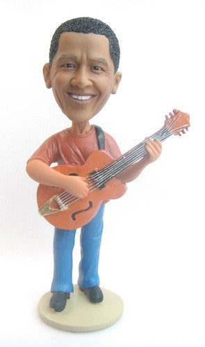 Male Guitar Player Bobblehead #4