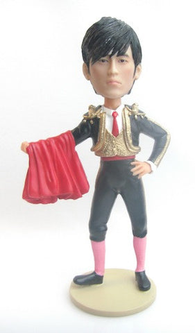 Bull Fighter Matador Bobblehead