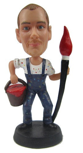 Painter Bobblehead