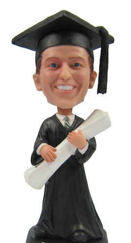 Graduation Male Bobblehead #2