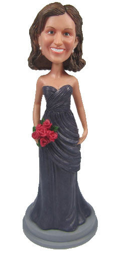 Elegant Dress Bobblehead #1