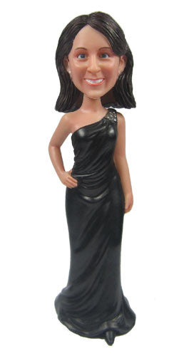 Elegant Dress Bobblehead #2