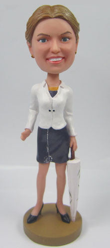 Casual Female Bobblehead #3