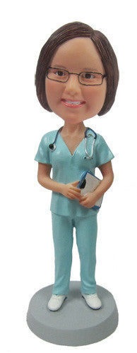 Doctor or Female Nurse Bobblehead