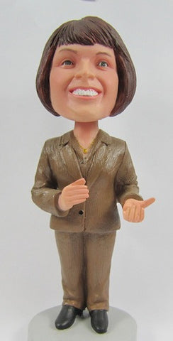 Business Woman Bobblehead #5