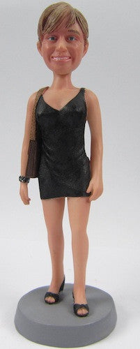 Female Dress Bobblehead #1