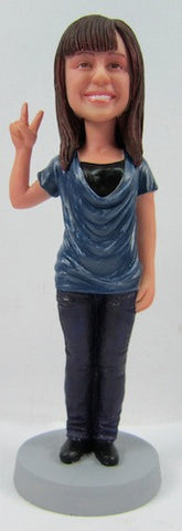 Casual Female Bobblehead #27