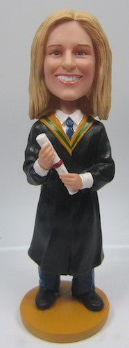 Graduation Femable Bobblehead #4