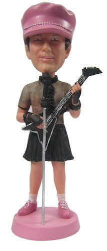 Female Rockstar Bobblehead #2