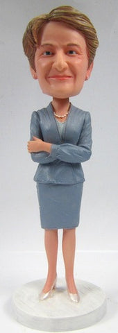 Business Woman Bobblehead #7