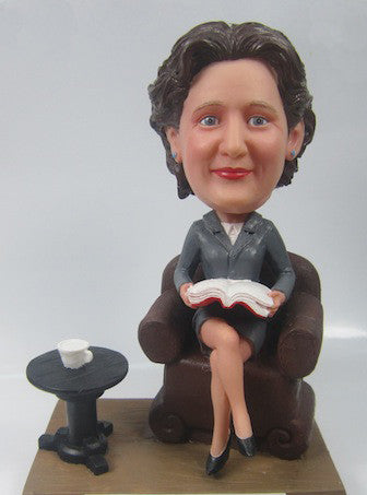 Business Woman Bobblehead #8