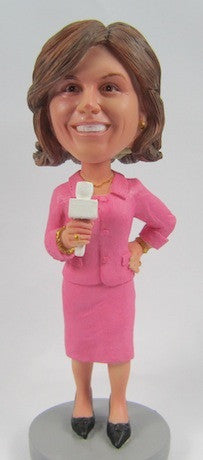 Business Woman Bobblehead #10