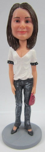 Casual Female Bobblehead #39