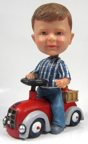 Bobblehead Driving Car