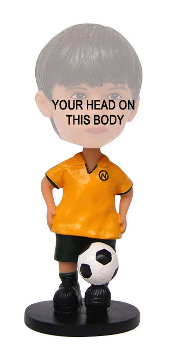 Child Soccer Player Bobblehead