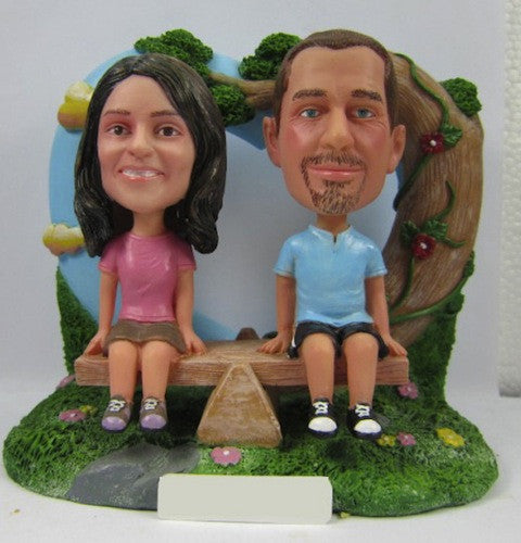 Classic Collectable Styled Couple Bobbleheads #5