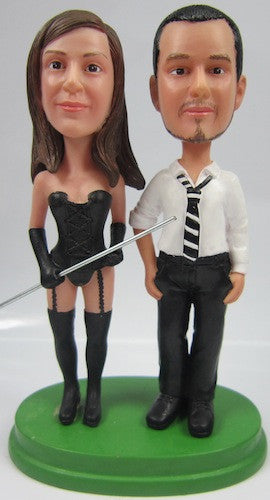 Classic Collectable Styled Couple Bobbleheads #9