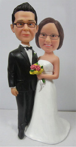 Wedding Couple Bobblehead #9