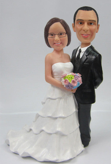 Wedding Couple Bobblehead #11