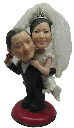 Wedding Couple Bobblehead #16