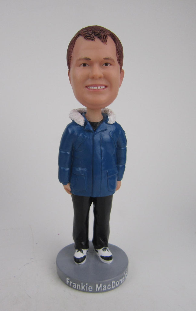SIGNED BOX - Frankie MacDonald Bobblehead - 2016 Edition