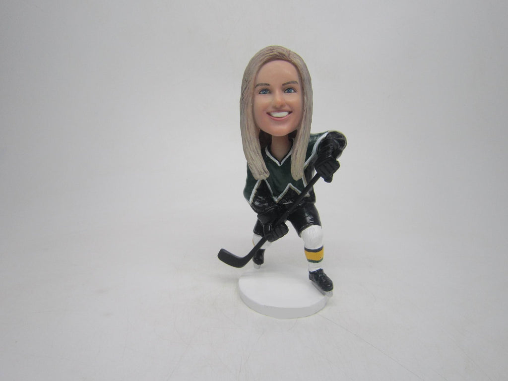 Female Hockey Player #2
