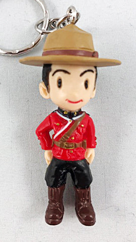 Official 3D Mounties Keychain