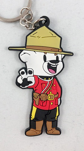 Official Bear Mounties Keychain